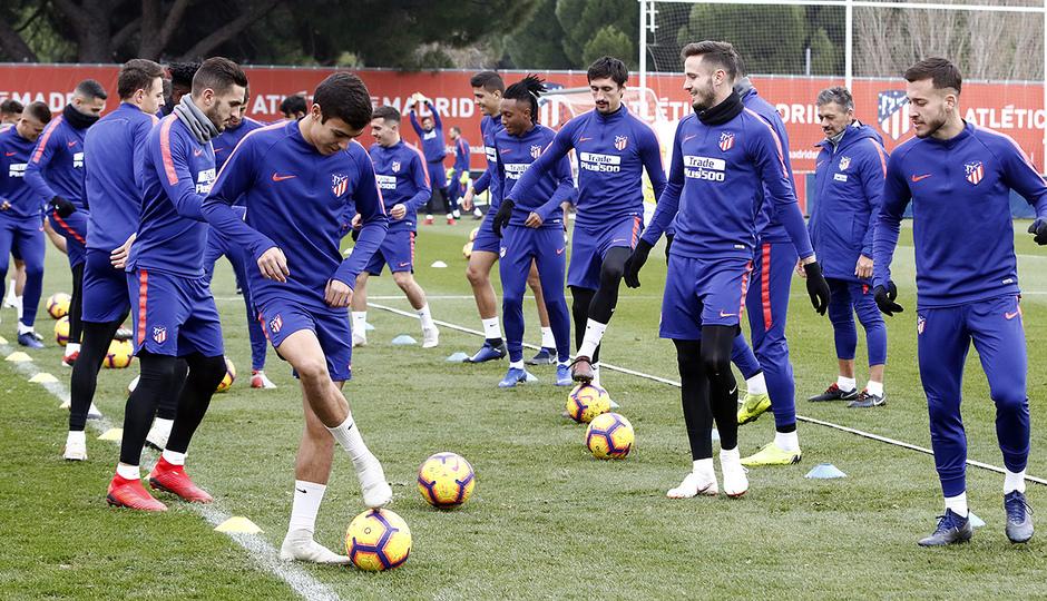 Temporada 18/19 | 1/12/2018 | Entrenamiento en la Ciudad Deportiva Wanda |