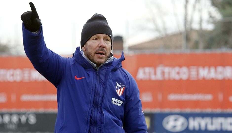 Temporada 2018-2019 | Entrenamiento Ciudad Deportiva Wanda | Simeone