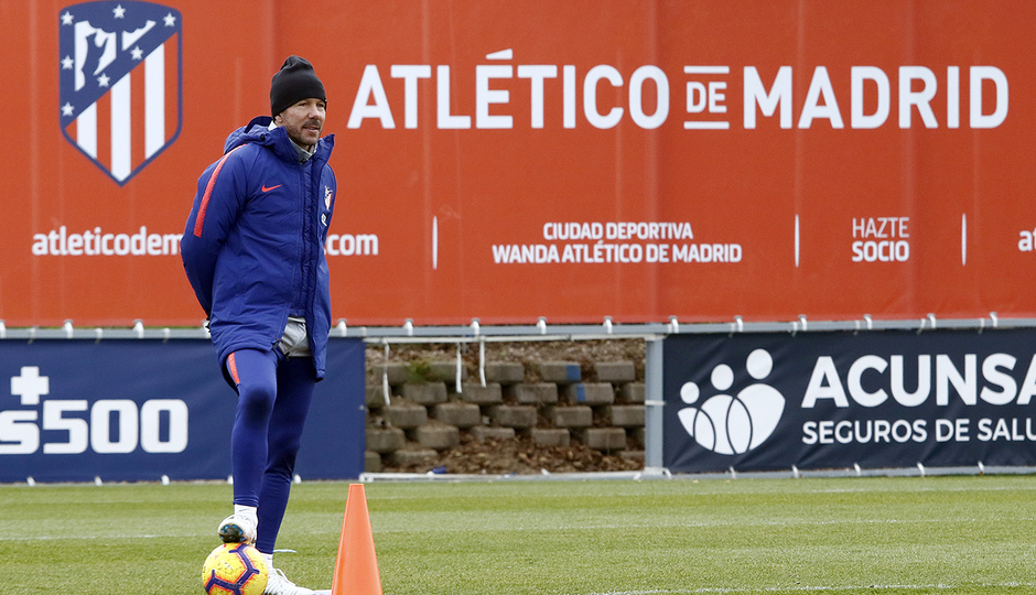 Temporada 18/19 | 1/12/2018 | Entrenamiento en la Ciudad Deportiva Wanda | Simeone