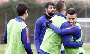 Temporada 18/19 | 1/12/2018 | Entrenamiento en la Ciudad Deportiva Wanda | Correa