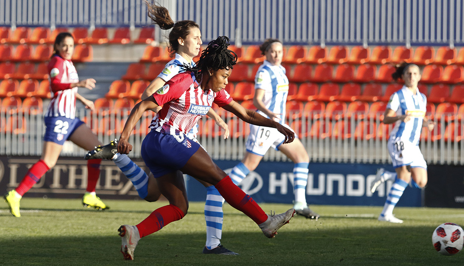 Temporada 2018-2019   Atlético de Madrid Femenino - Real Sociedad   Tounkara