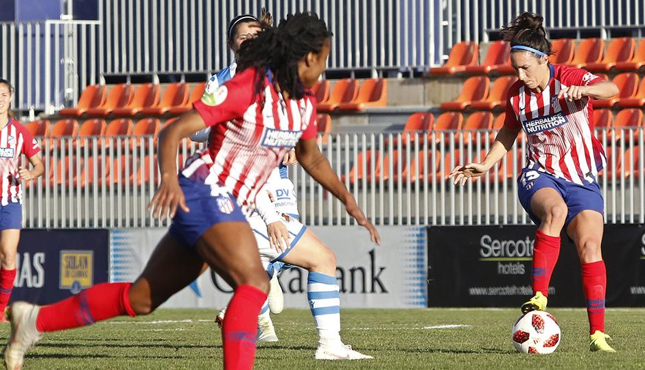 Temporada 2018-2019   Atlético de Madrid Femenino - Real Sociedad   Meseguer y Tounkara