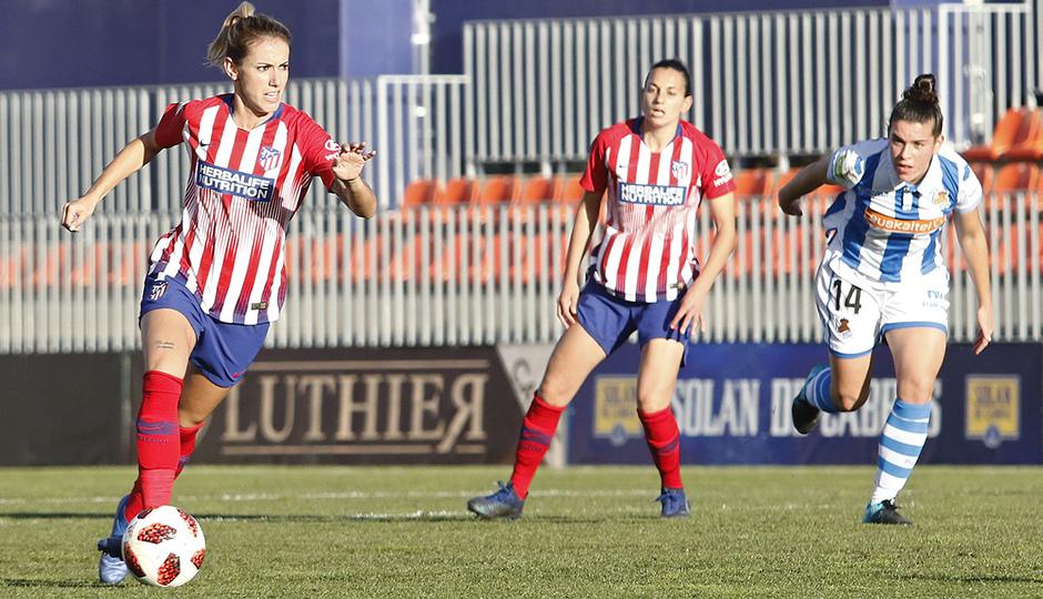 Temporada 2018-2019   Atlético de Madrid Femenino - Real Sociedad   Ángela Sosa