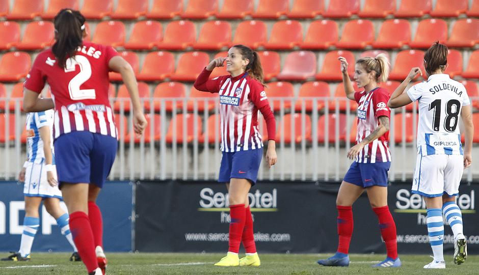 Temporada 2018-2019   Atlético de Madrid Femenino - Real Sociedad   Olga García