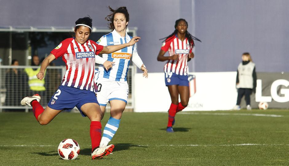 Temporada 2018-2019   Atlético de Madrid Femenino - Real Sociedad   Kenti Robles