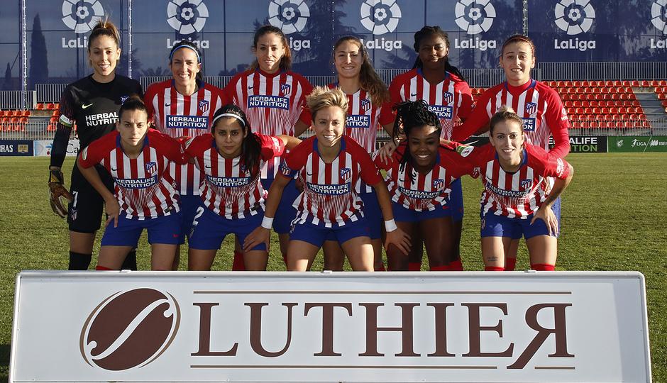 Temporada 2018-2019   Atlético de Madrid Femenino - Real Sociedad   Once