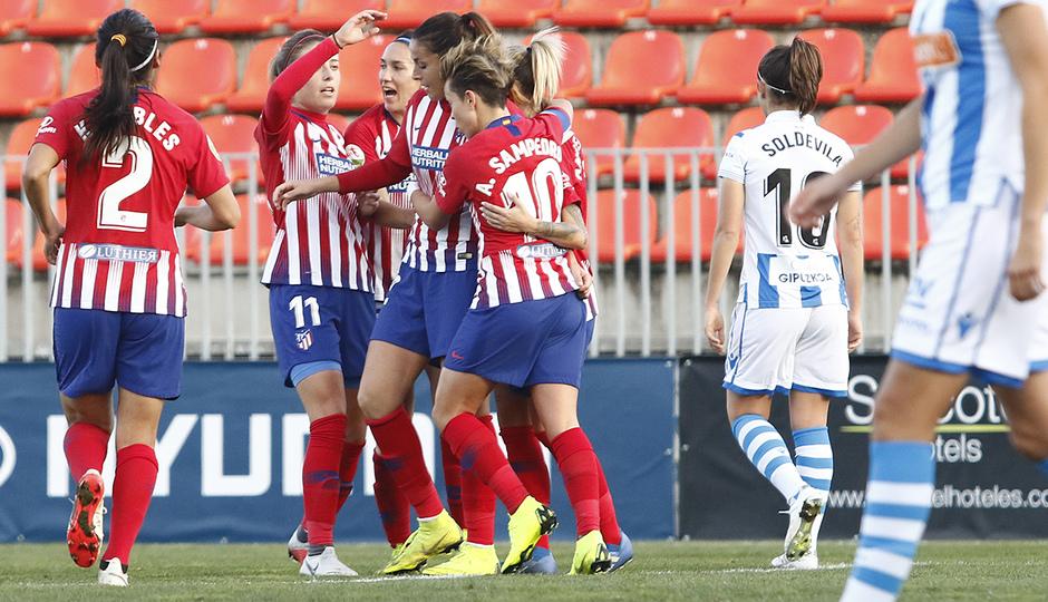 Temporada 2018-2019 | Atlético de Madrid Femenino - Real Sociedad | Piña