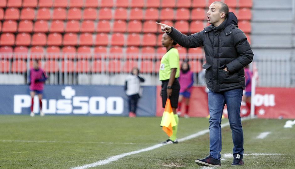 Temporada 2018-2019   Atlético de Madrid Femenino - Real Sociedad   Sánchez Vera