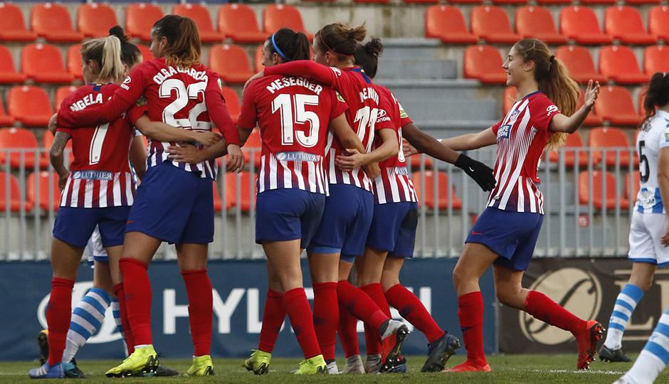 Temporada 2018-2019   Atlético de Madrid Femenino - Real Sociedad   Piña