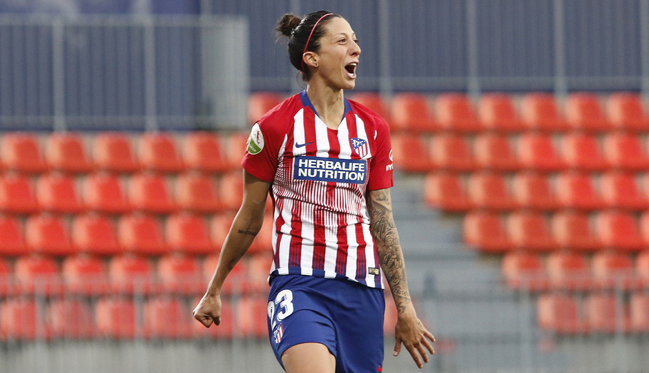 Temporada 2018-2019   Atlético de Madrid Femenino - Real Sociedad    Jennifer Hermoso