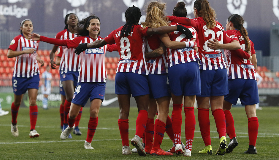 Temporada 2018-2019   Atlético de Madrid Femenino - Real Sociedad    Celebración