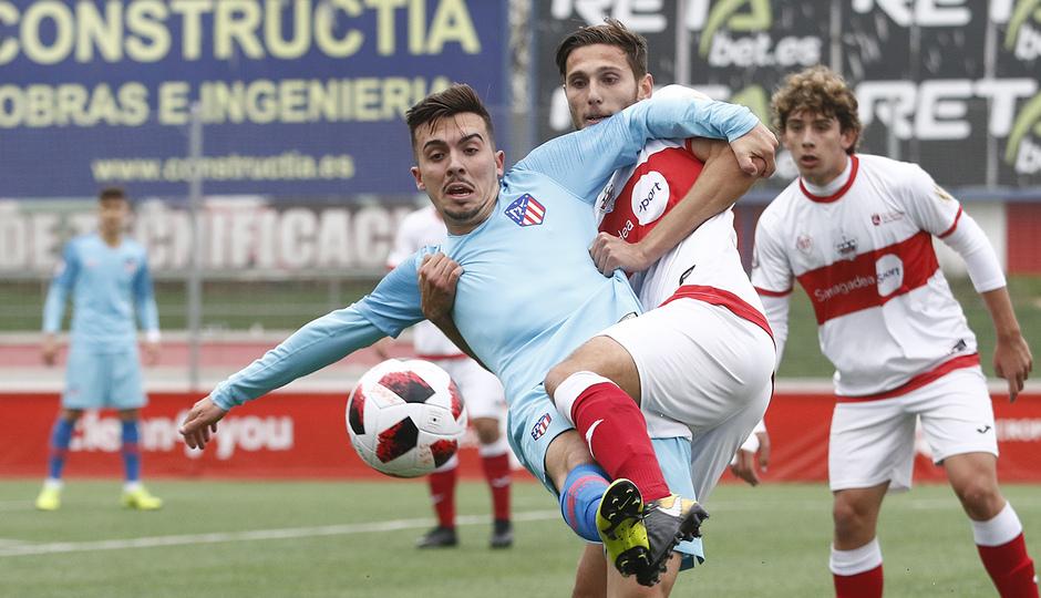 Temp 2018-2019 | Sanse - Atlético de Madrid B | Joaquín