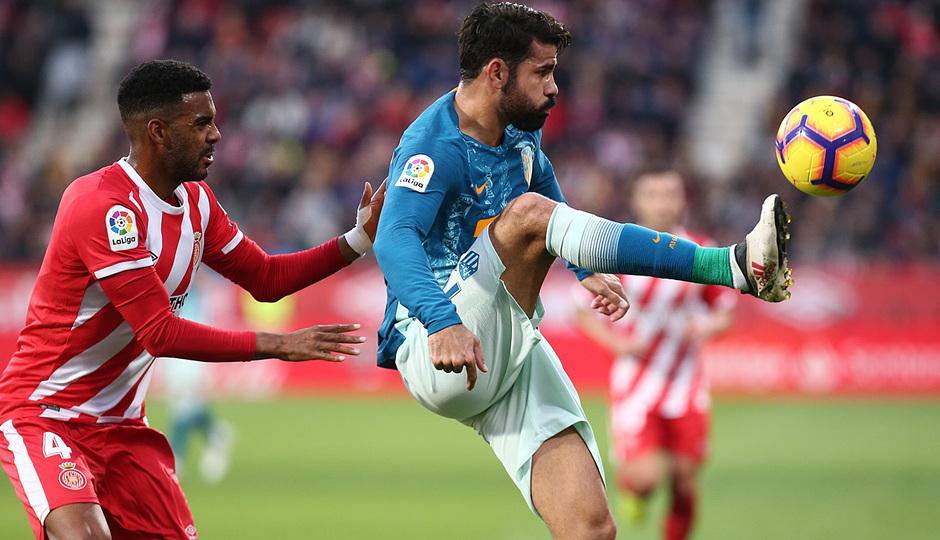 Temporada 2018-2019 | Girona - Atlético de Madrid | Diego Costa
