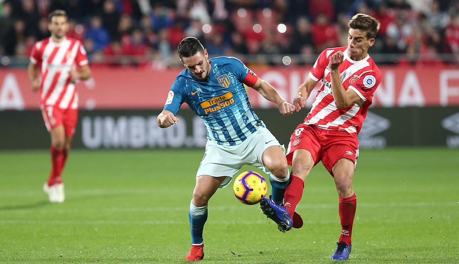Temporada 2018-2019 | Girona - Atlético de Madrid | Koke