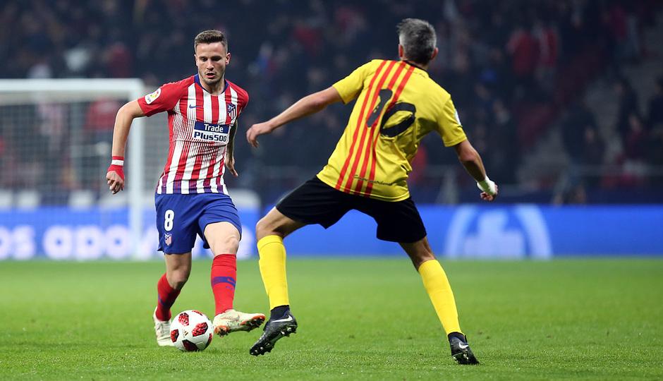 Temporada 18/19 | Atleti - Sant Andreu | Saúl