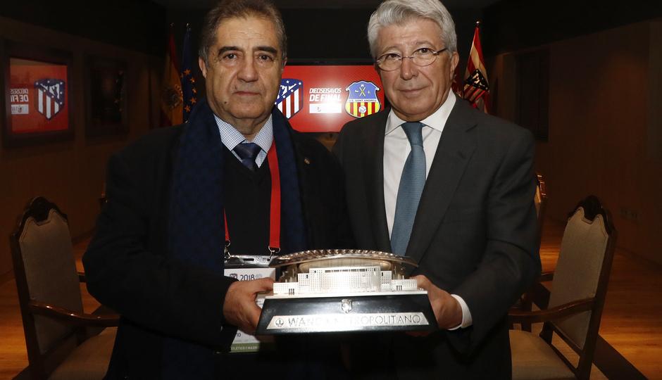 Temporada 18/19 | Atleti - Sant Andreu | Palco Cerezo