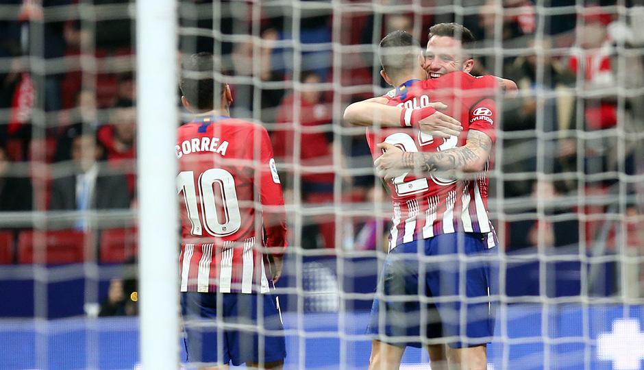 Temporada 18/19 | Atleti - Sant Andreu | celebración gol Vitolo