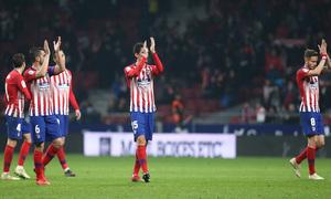 Temporada 18/19 | Atleti - Sant Andreu | jugadores aplaudiendo