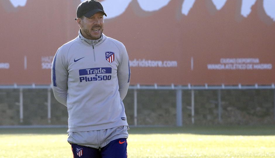 Temporada 18/19 | 06/12/2018 | Entrenamiento en la Ciudad Deportiva Wanda | Simeone