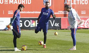 Temporada 18/19 | 06/12/2018 | Entrenamiento en la Ciudad Deportiva Wanda | Adán