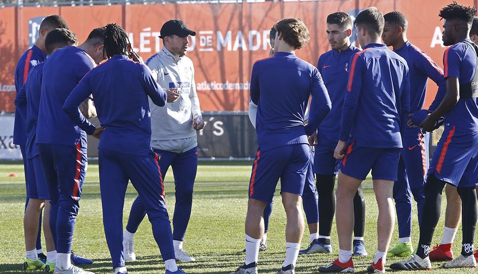 Temporada 18/19 | 06/12/2018 | Entrenamiento en la Ciudad Deportiva Wanda |