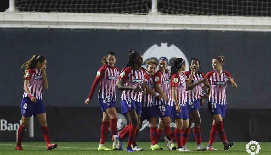 Temporada 2018-2019 | Atlético de Madrid Femenino - Valencia | Celebración