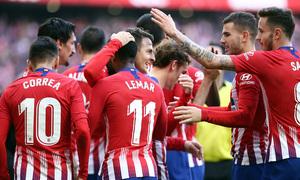 Temporada 2018-2019 | Atlético de Madrid - Alavés | Grupo celebración