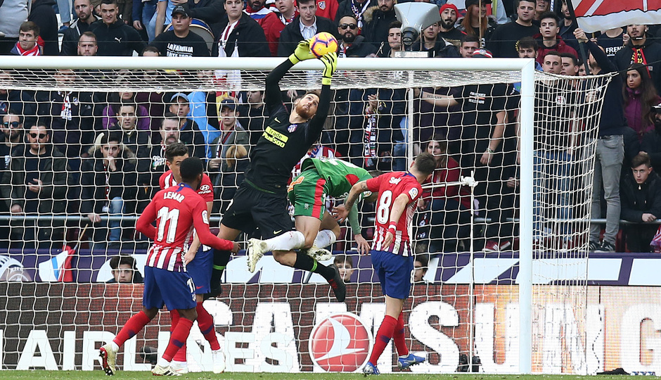 Temporada 2018-2019 | Atlético de Madrid - Alavés | Oblak
