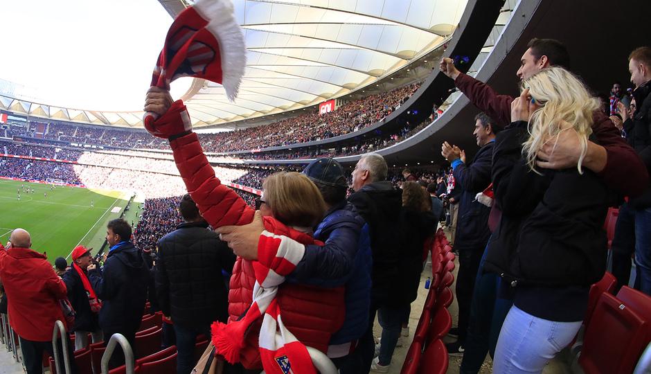 Temporada 2018-2019 | Atlético de Madrid - Alavés | Wanda Metropolitano afición