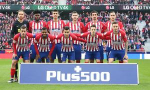 Temporada 2018-2019 | Atlético de Madrid - Alavés | once