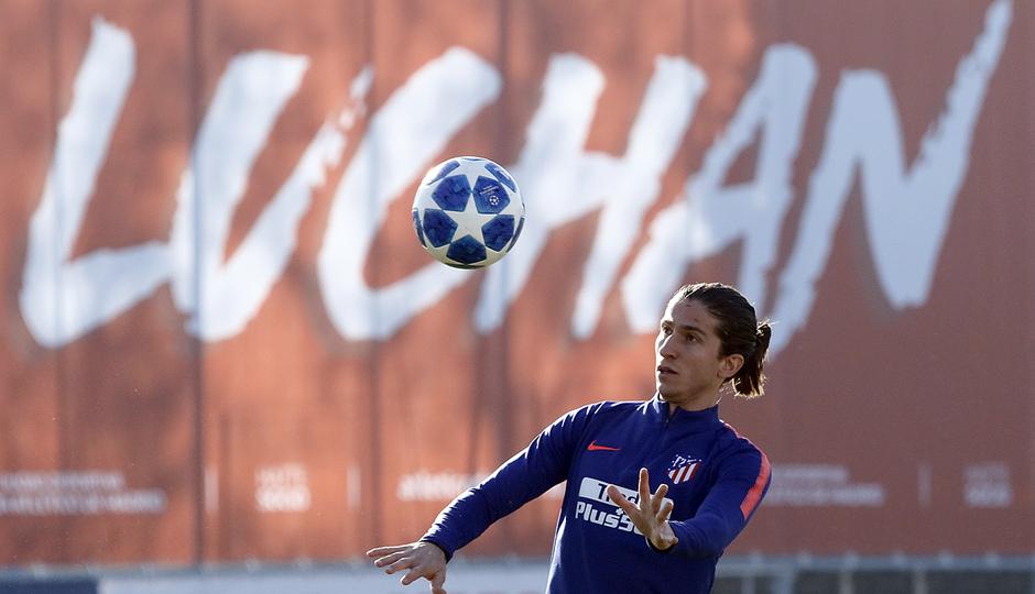 Temp. 18-19 | Entrenamiento en la Ciudad Deportiva Wanda | Filipe Luis