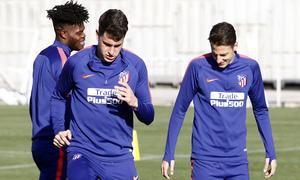 Temp. 18-19 | Entrenamiento en la Ciudad Deportiva Wanda | Rodrigo y Arias