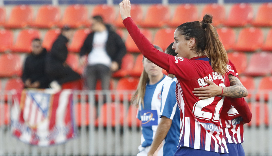 Temporada 18/19 | Atlético de Madrid Femenino - Espanyol | Olga
