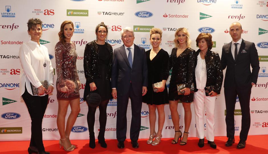 Temp. 18-19 | Gala de los premios AS del deporte | Atlético de Madrid Femenino y Enrique Cerezo