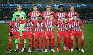 Temporada 18/19 | Brujas - Atlético de Madrid | Once