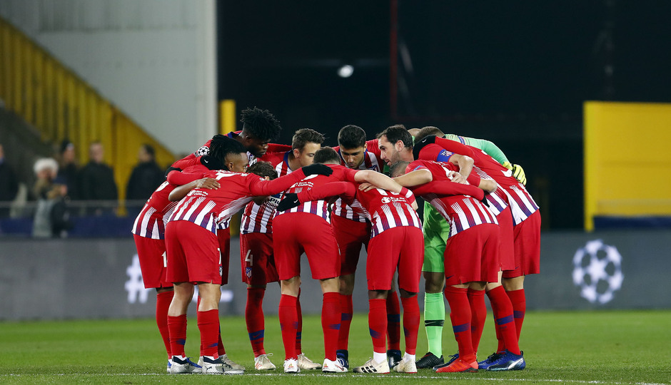 Temporada 18/19 | Brujas - Atlético de Madrid | Piña