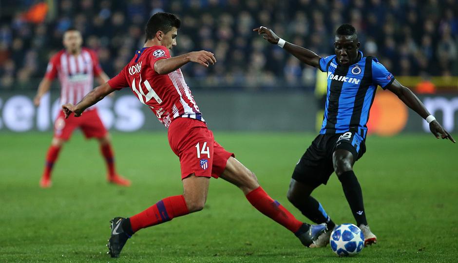 Temporada 18/19 | Brujas - Atlético de Madrid | Rodrigo