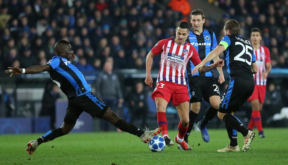 Temporada 18/19 | Brujas - Atlético de Madrid | Vitolo