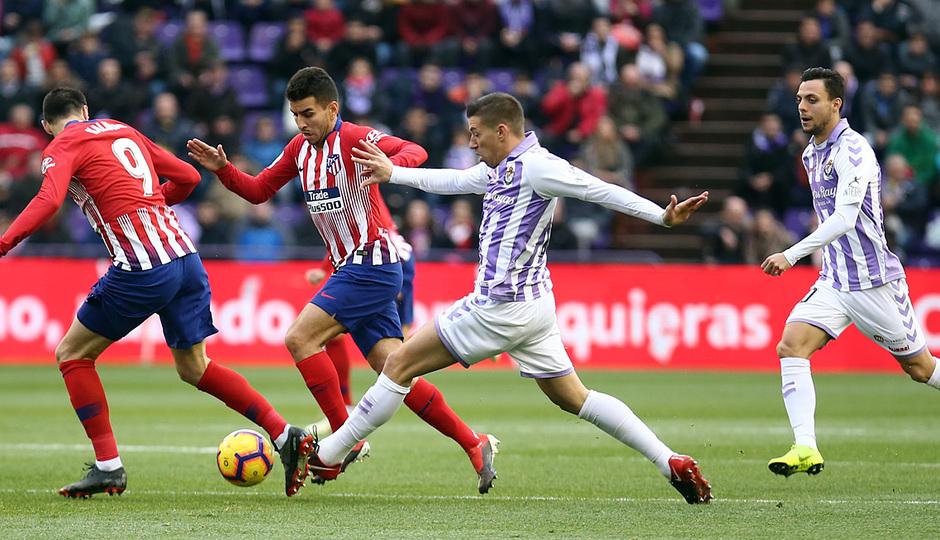 Temporada 18/19 | Valladolid - Atlético de Madrid | Correa