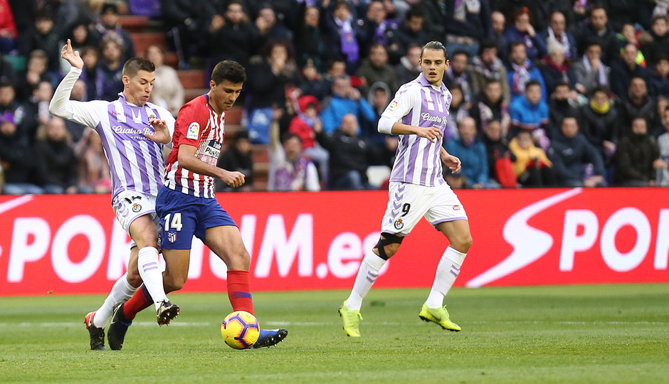 Temporada 18/19 | Valladolid - Atlético de Madrid | Rodrigo