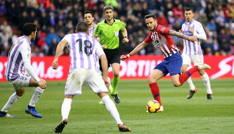 Temporada 18/19 | Valladolid - Atlético de Madrid | Saúl