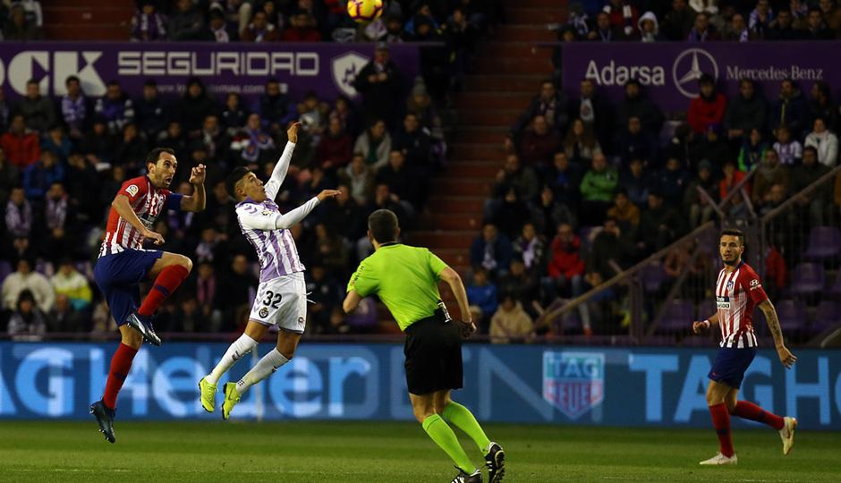 Temporada 18/19 | Valladolid - Atlético de Madrid | Godín