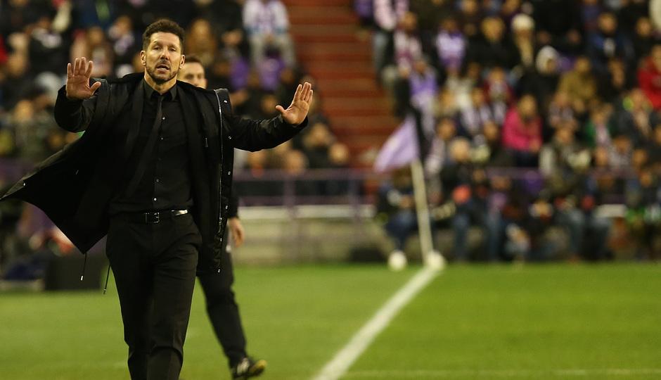 Temporada 18/19 | Valladolid - Atlético de Madrid | Simeone