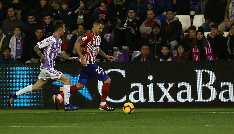 Temporada 18/19 | Valladolid - Atlético de Madrid | Vitolo