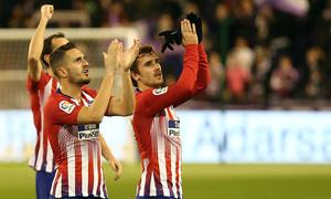 Temporada 18/19 | Valladolid - Atlético de Madrid | Koke y Griezmann aplaudiendo