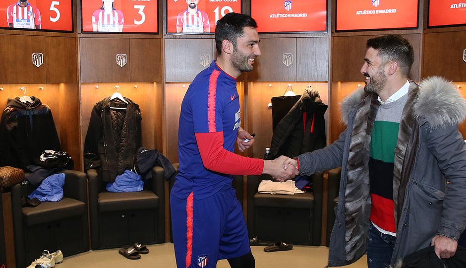 Temp. 18-19 | Visita Torres y Villa al Wanda Metropolitano | Adán