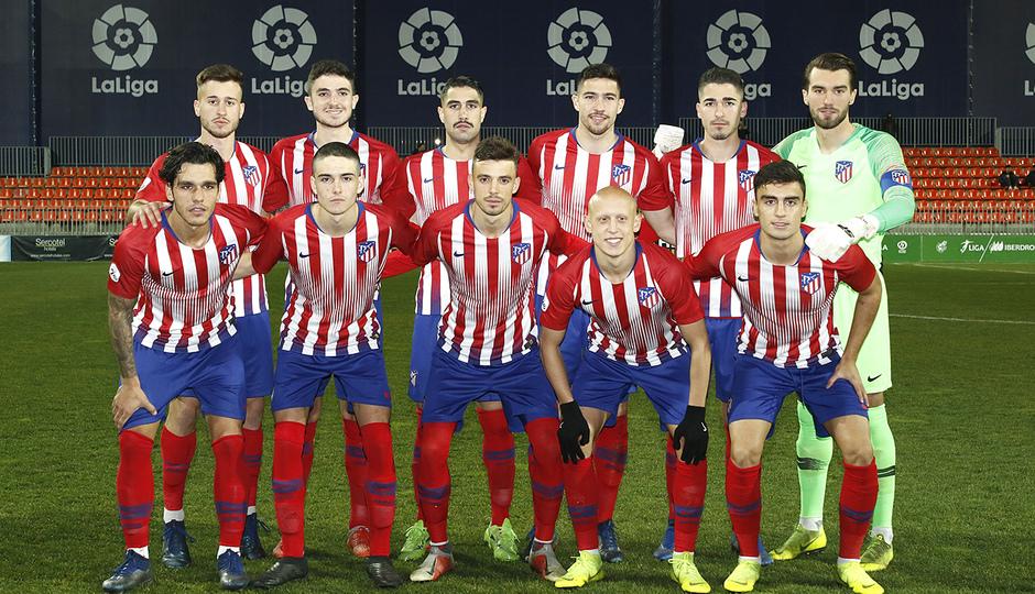 Temporada 18/19 | Atlético B - Pontevedra | Once