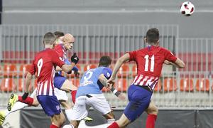 Temporada 18/19 | Atlético B - Pontevedra | Gol de Víctor Mollejo