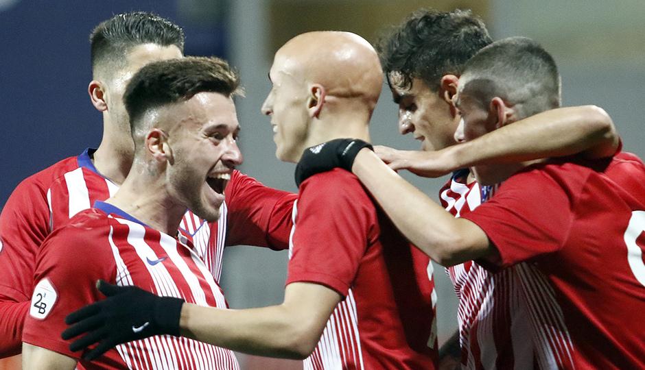 Temporada 18/19 | Atlético de Madrid B - Pontevedra | Óscar Fernández