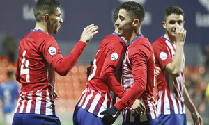 Temporada 18/19 | Atlético B - Pontevedra | Gol Toni Moya